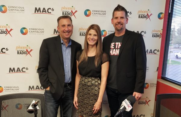 High Hopes Podcast with Host, Angela Felix and Sponsor Phoenix Business RadioX