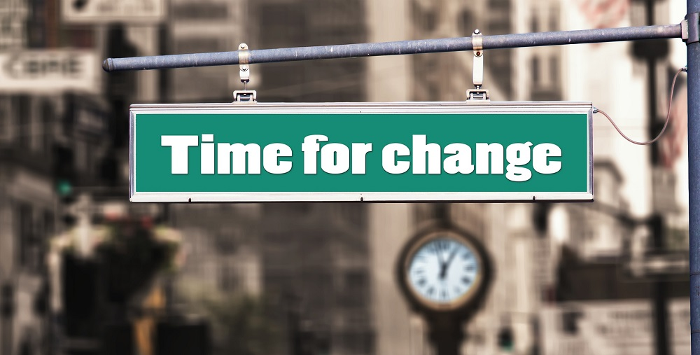 WHEN is the right time to make changes in your life.